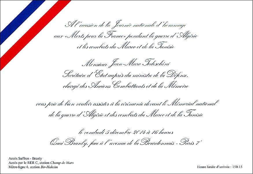 Modele Invitation Ministre Document Online