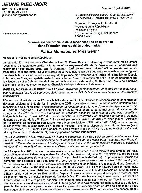 President De La Republique