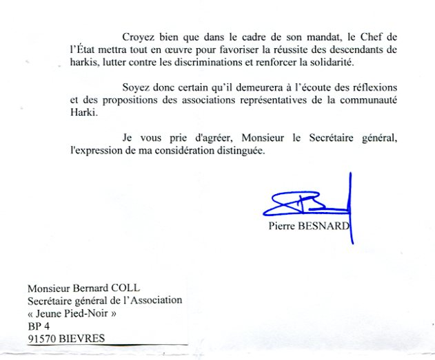 modele de lettre president de la republique President de la Republique modele de lettre president de la republique