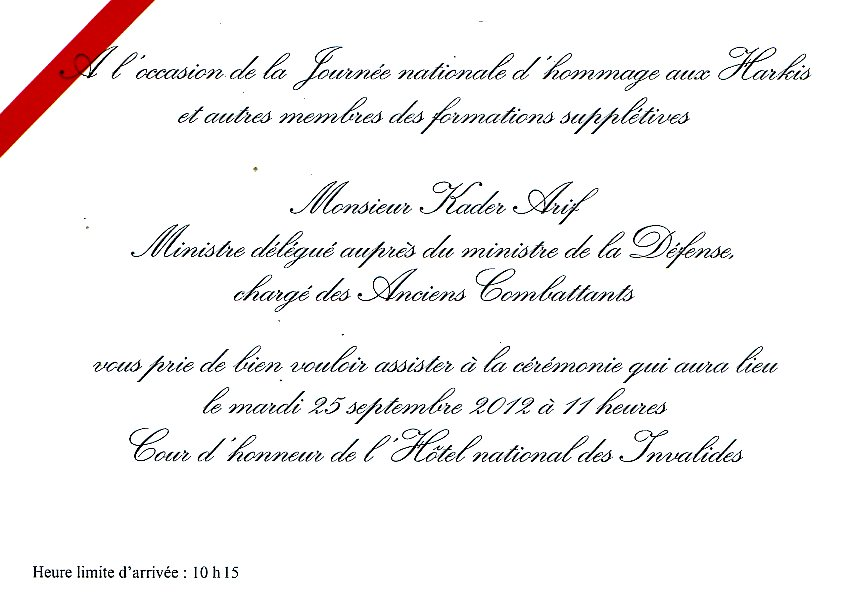 Modele Lettre Invitation Officielle