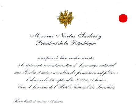 Exemple Carte Invitation Officielle